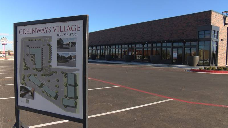 In a high traffic area with cars whizzing by, Greenways Village's 15,000 square feet of retail...
