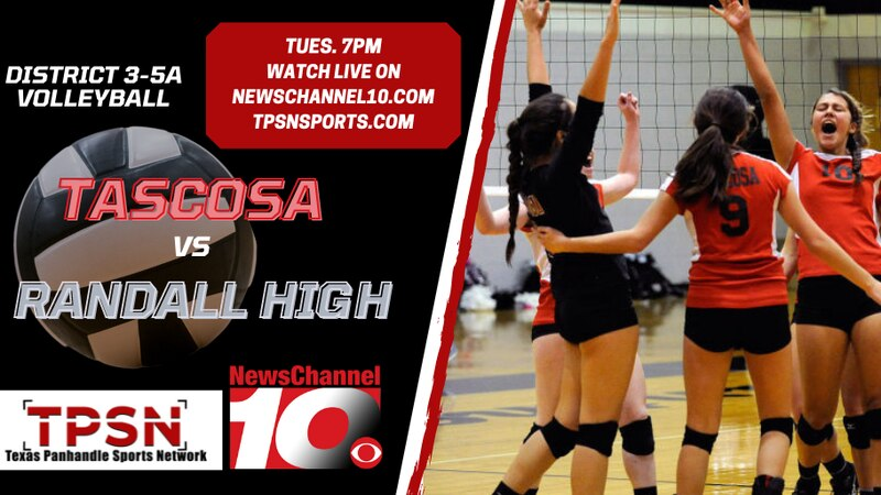 The Texas Panhandle Sports Network will host a livestream of the Tascosa vs Randall volleyball...