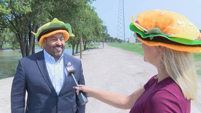 On the Road: Friona hosts 15th annual Cheeseburger Festival.