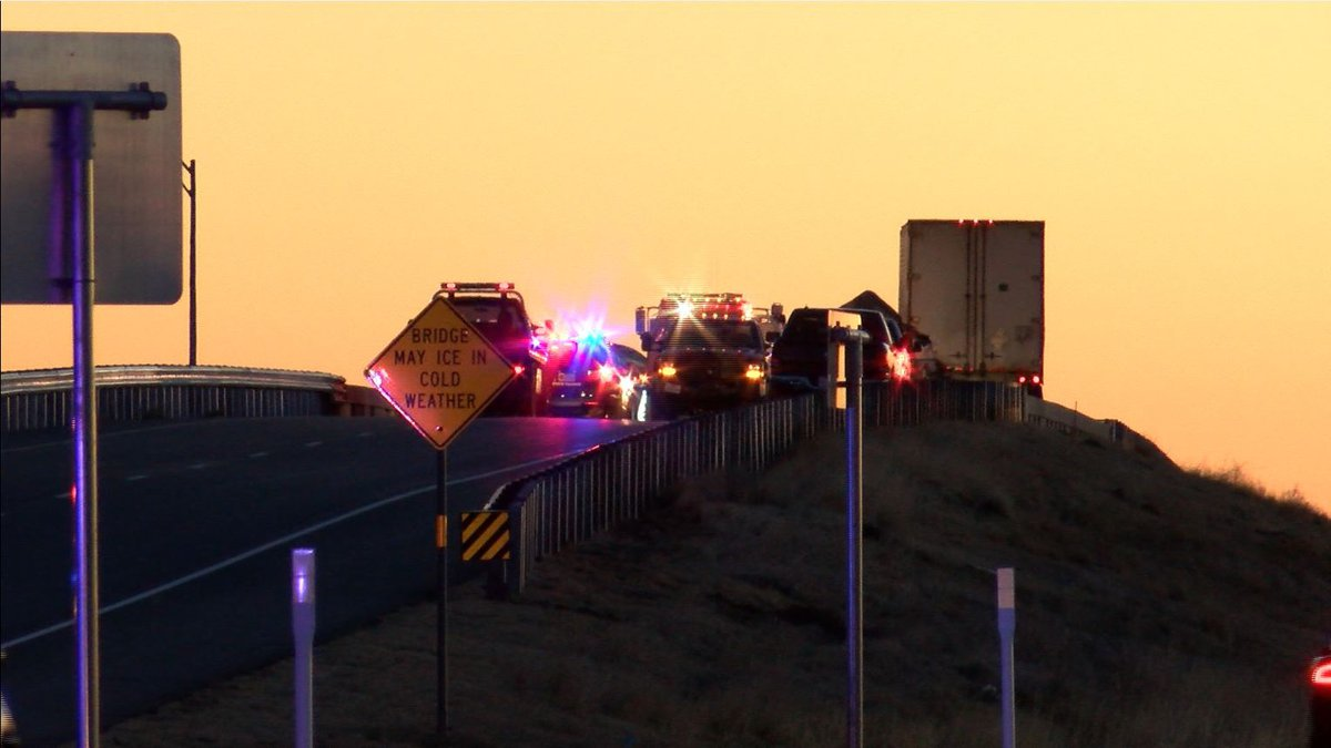 DPS says one person was taken to the hospital with non-life threatening injuries following a...