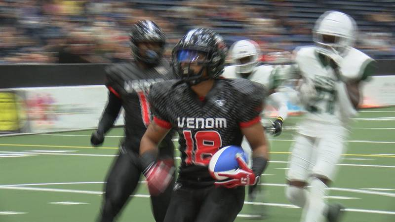 The Amarillo Venom are playing their last regular season indoor football home game this...