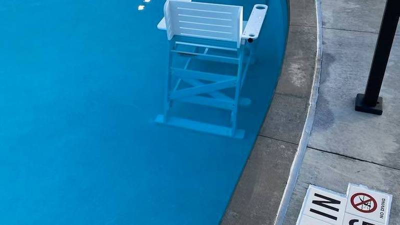 Just a few days after opening, the Thompson Park Pool in Amarillo was burglarized.  (Source:...