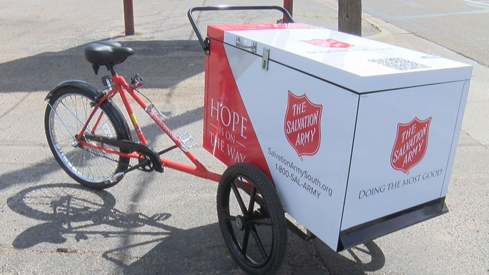 The Salvation Army of Amarillo received their first mobile auxiliary support hub, or MASH.