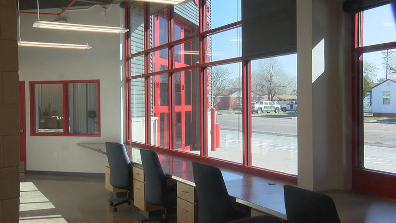 Amarillo's new Fire Station number 5 is finally complete and today we received a first look...