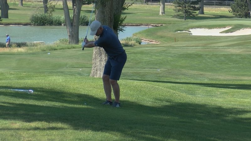 Round two of the 35th annual Whing Ding Invitational ended with Craig Riseling and Tyler Paige...