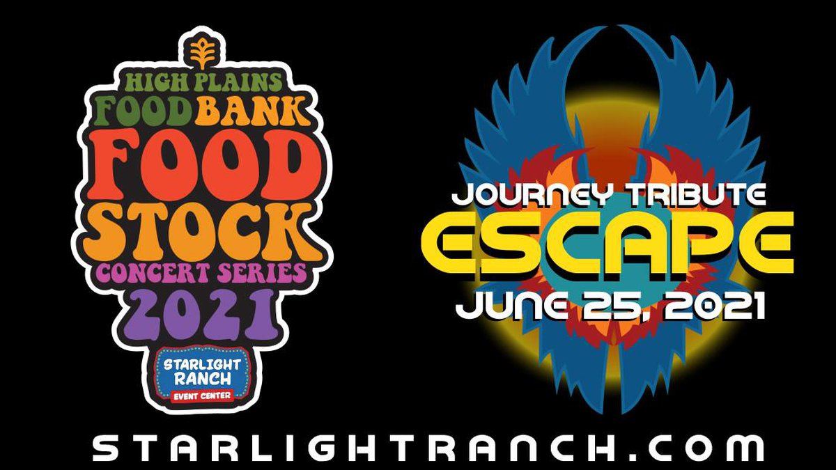 You're invited to Starlight Ranch on Friday, June 25 for Escape - A Journey Tribute presented...