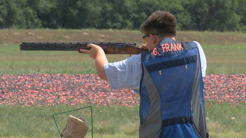 The Amarillo Gun Club's Texas State Trap Shoot kicked off day five of six. Saturday's event,...