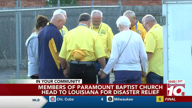 Paramount Baptist Church team members head to Louisiana for disaster relief