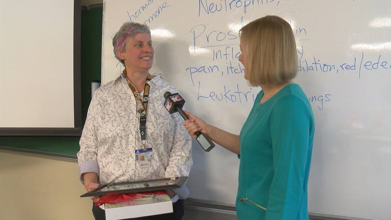 Amarillo College massage therapy class nominates professor for going Above and Beyond.