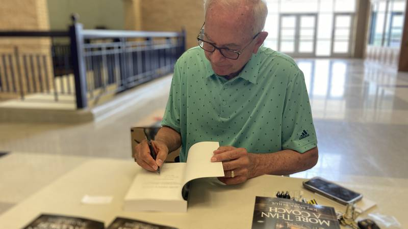 Texas Panhandle legend Joe Lombard, held his first book signing today at the Joe Lombard...