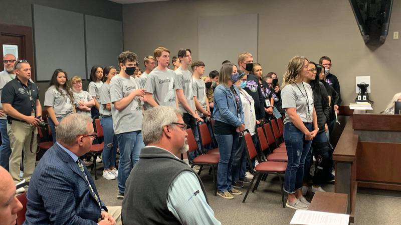 Randall County Commissioners honor SOTX Athletes