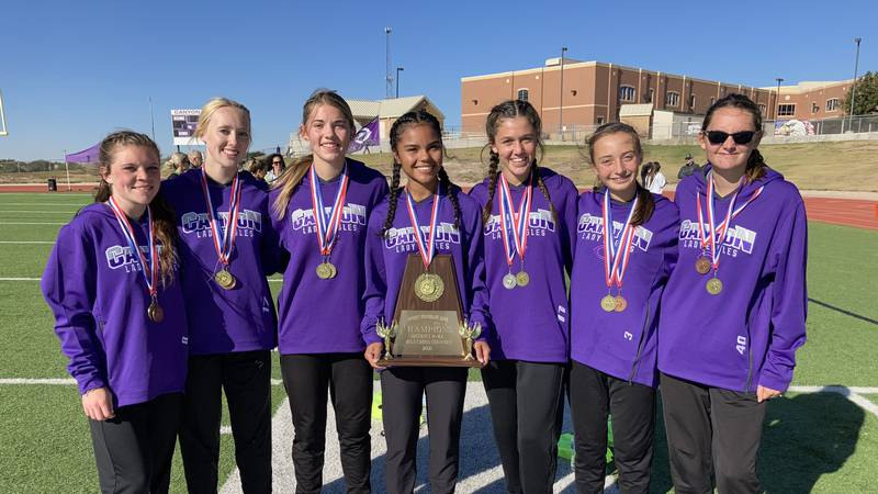 Canyon boys and girls cross country teams were one of three teams each advancing to regionals...