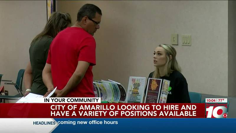 City of Amarillo has a variety of job openings