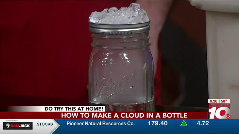 How to make a cloud in a jar!
