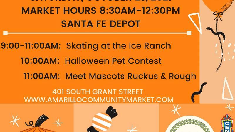 The Amarillo Community Market will host a Harvest Market on Saturday, October 23.