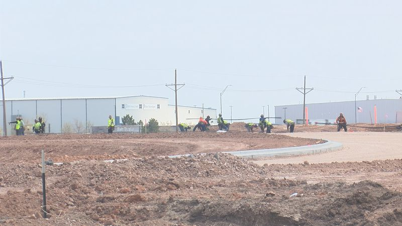 The Amazon warehouse coming to Northeast Amarillo is on track to open early 2022.  The grading...