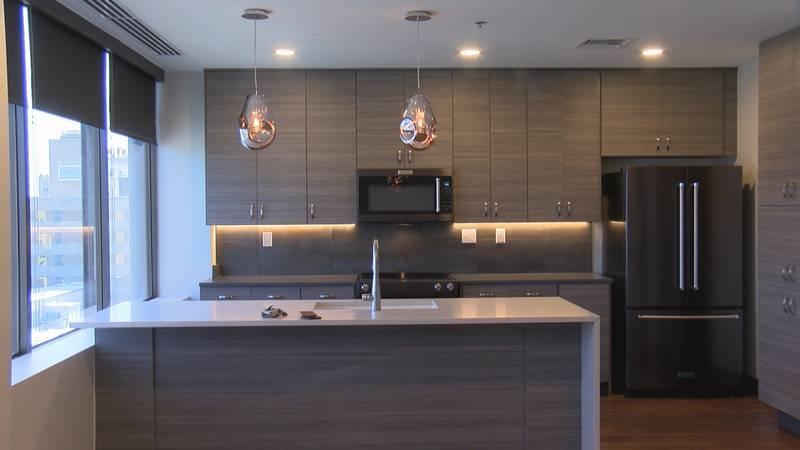 Here's a first exclusive look at the new apartments in downtown Amarillo.