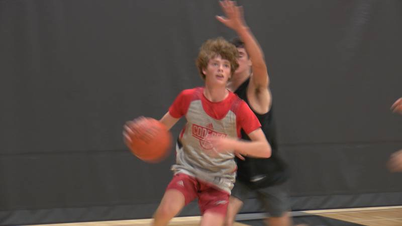 The Raiders are hosting a three-day Randall Basketball Team Camp that started on Thursday. A...