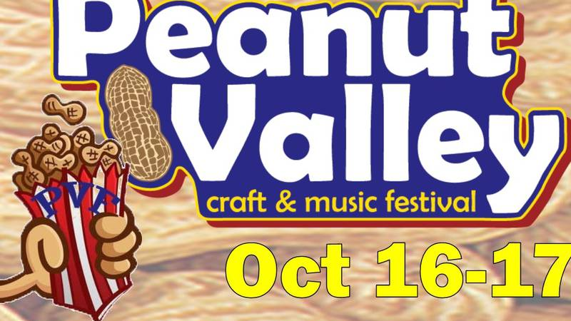 The 48th Annual Peanut Valley craft & music festival is happening this weekend in Portales.