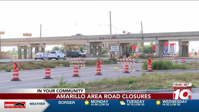 Traffic Alert: Amarillo area lane closures
