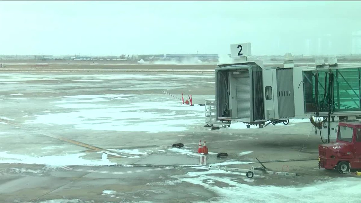With winter weather hitting the Panhandle, Rick Husband Airport in Amarillo is planning ahead...