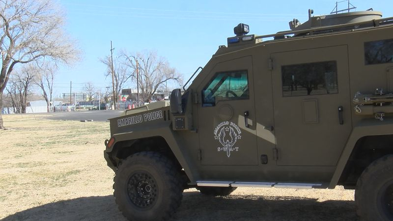 Amarillo SWAT recently responded to a standoff and their new SWAT vehicle assisted them in...