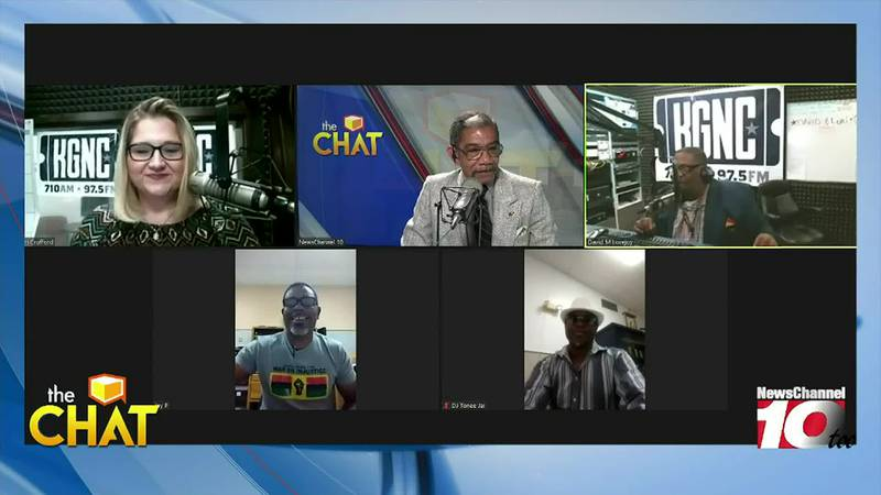 THE CHAT: Toni Jai and Pastor Jay Parker join us on The Chat