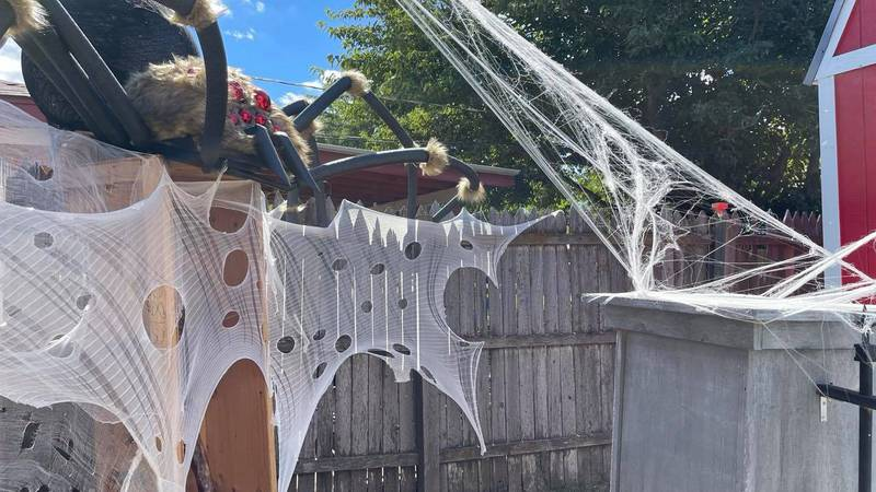 If you're looking for a way to spend Halloween weekend, one Amarillo resident has you covered.