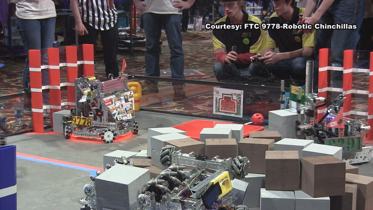 Kelton ISD's FTC 9778-Robotic Chinchillas at Nationals (Source: FTC 9778-Robotic Chinchillas)