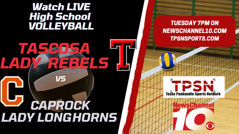 Texas Panhandle Sports Network will host a livestream of the Caprock vs Tascosa volleyball game.