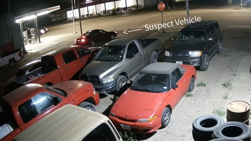 Suspect vehicle in Pampa catalytic converter thefts  (Source: Top of Texas Crime Stoppers)
