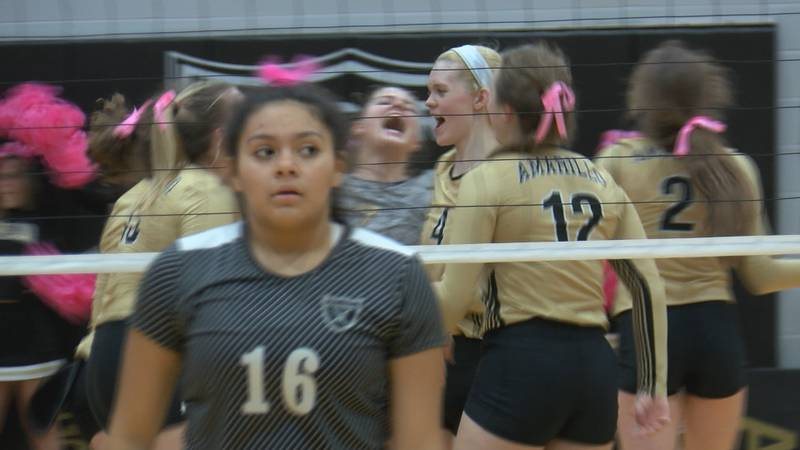 Amarillo High tops Randall in five sets (25-20, 21-25, 23-25, 25-9 and 15-12).