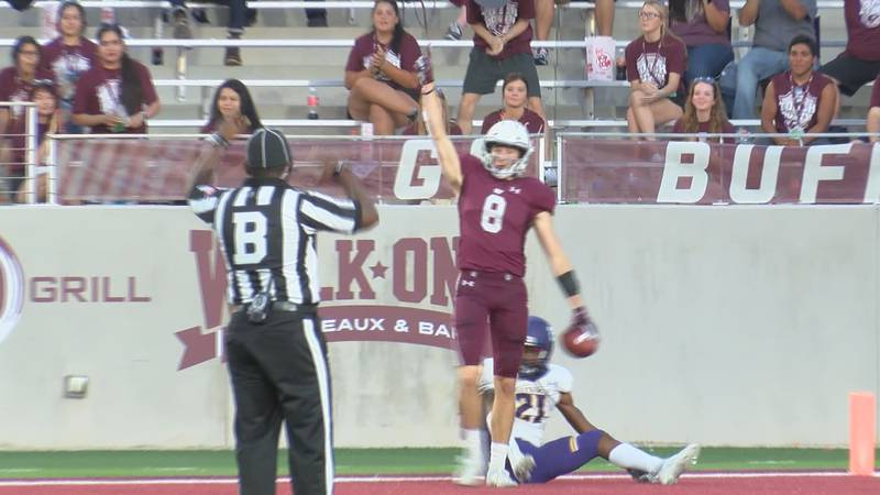 The West Texas A&M Buffaloes responded from last week's defeat in a big way on Saturday night...