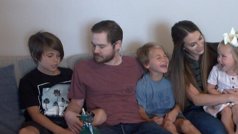 From left to right: Beckett, Kristian, Corbin, Ashley and Hollis.