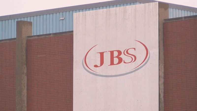 The JBS meatpacking plant in Louisville, Ky. employs approximately 1,200 workers represented by...