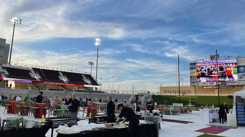 West Texas A&M University made history with its fundraising campaign launch of One West.