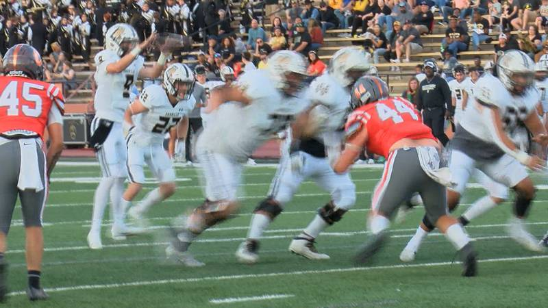 The Amarillo High Sandies and Tascosa Rebels are both (4-1) after their first District 2-5A DI...