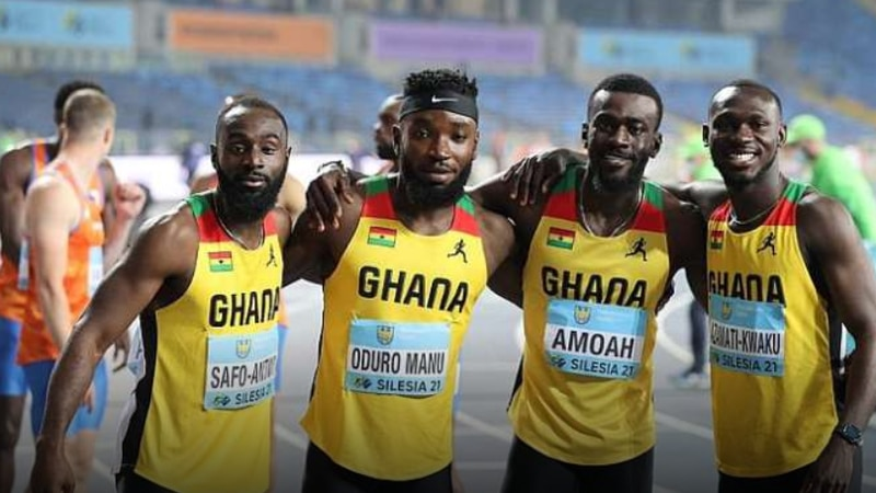 National record holder, Benjamin Azamati helped the Ghana 4x100m relay team qualify for the...
