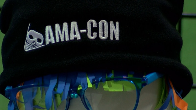 AMA-CON BACK AND OUTDOORS