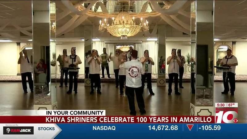 Khiver Shriners celebrate 100 years in Amarillo