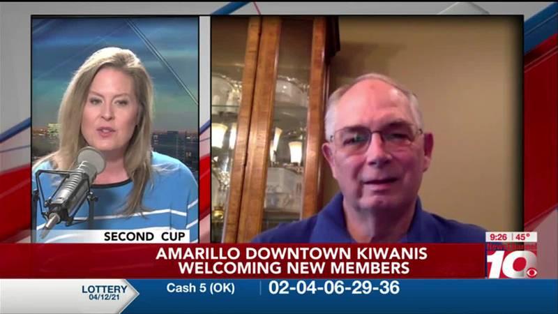 KFDA 2ND CUP: Amarillo Downtown Kiwanis Welcoming New Members