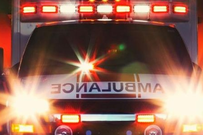 US 385 near Channing is shut down due to a major crash.