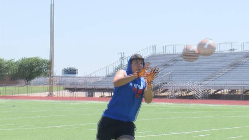 A few of our Texas Panhandle football players have a chance to shine and show off their skills...