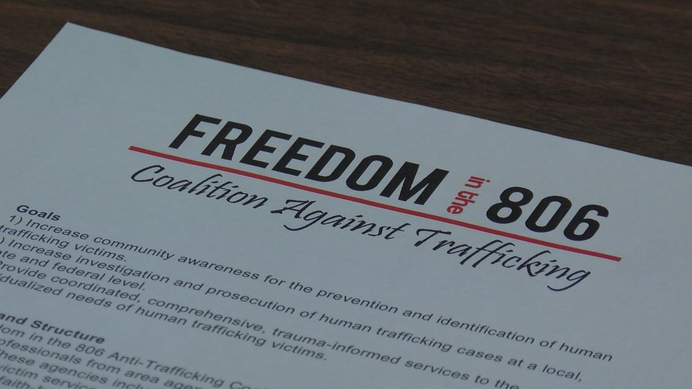 The Freedom in the 806 Anti-Trafficking Coalition is taking on a new initiative to combat a...