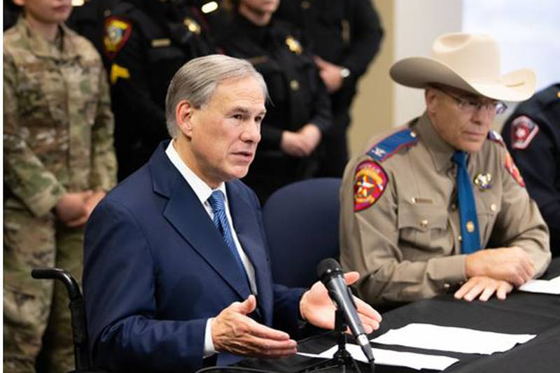 Governor Greg Abbott held a press conference in Fort Worth where he highlighted the state's...