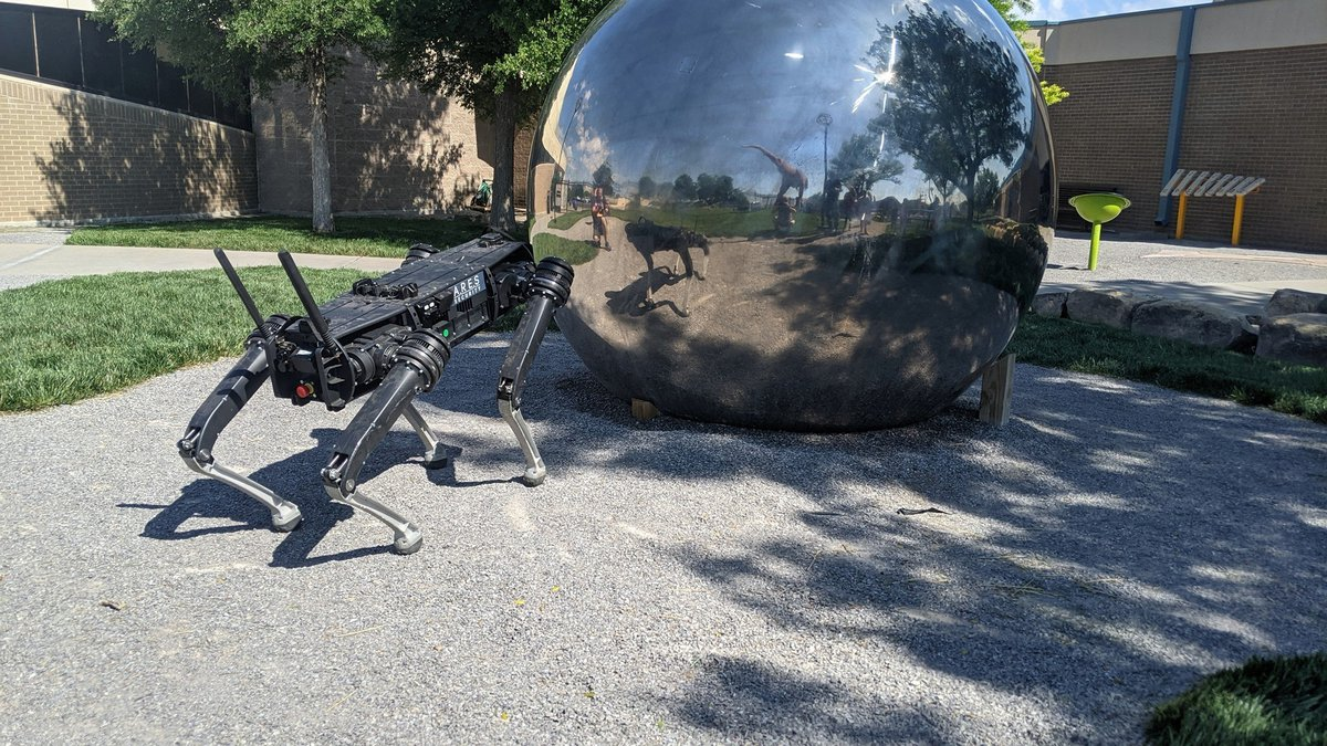 The Don Harrington Discovery Center is offering two chances to meet Astro the Robotic Dog....