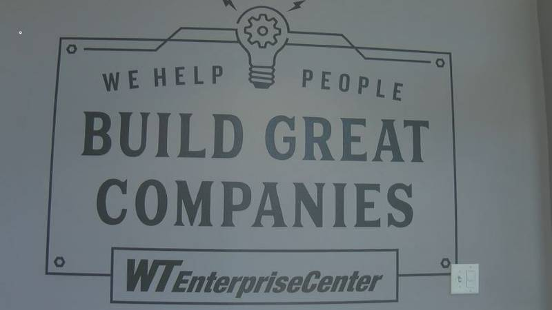 A brand new program at the WT Enterprise Center, that was just approved for funding by the...