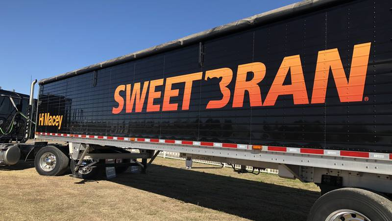Chances are, you've seen Cargill's Sweet Bran trucks in the Panhandle with a special message...