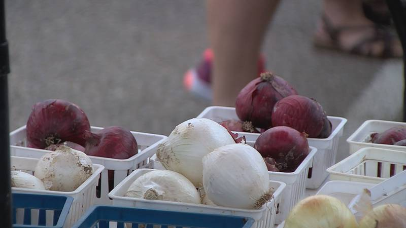 Golden Spread Farmers Market fully open after harvest delayed due to weather.