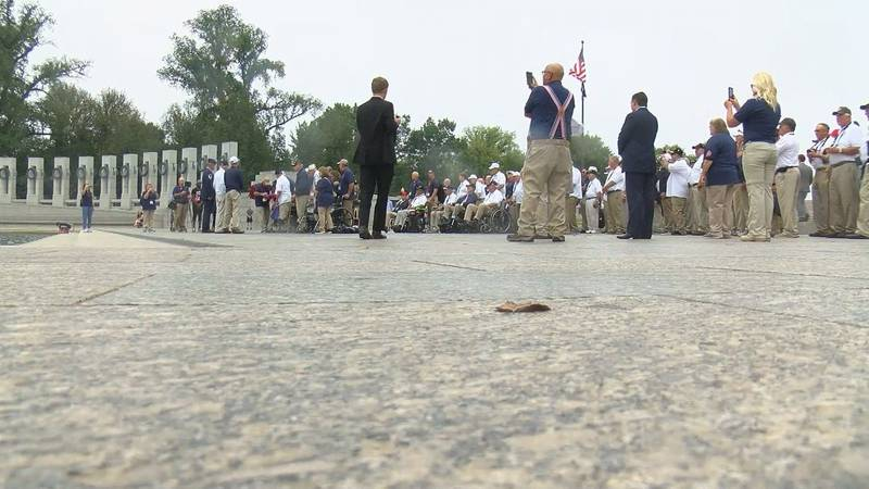 Local World War II veterans had the opportunity to participate in a wreath-laying ceremony at...
